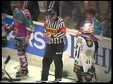 Hockey rough stuff - Season 1994-1995 playoff finals TPS vs Jokerit