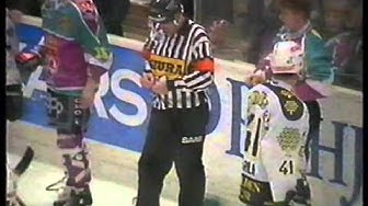 Hockey rough stuff - Season 1994-1995 playoff finals TPS vs Jokerit