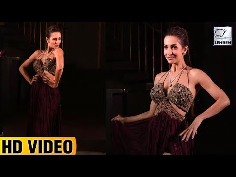 Maliaka Arora's STUNNING Look On The Ramp Walk | Btown Fashion
