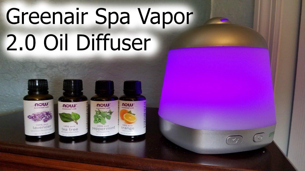 Greenair spa vapor