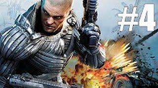 Crysis Warhead прохождение на русском - Часть 4: Замороженный рай