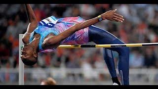 Mutaz Essa BARSHIM 2.38 High Jump. Diamond League Oslo Bislett Games 2017