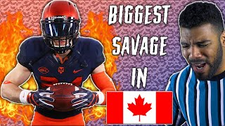 The #1 Cornerback In Canada Is A STRAIGHT SAVAGE l Sharpe Sports