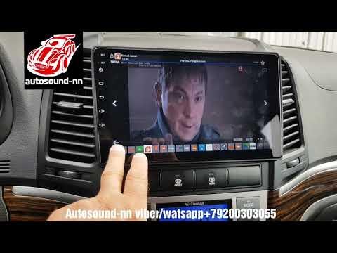 "Штатная Магнитола Zhihang Hyundai Santa Fe 9"" IPS,2.5D (4 ядра 2/32)android 8.1"