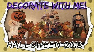 Decorate With Me! | Halloween 2018 🎃