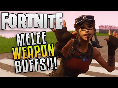 Fortnite Save The World Update 4.4 Melee Buffs