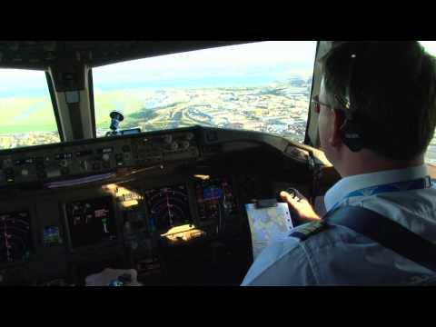 Boeing 777-300ER into Marseille!
