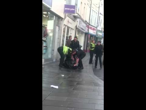 Monday morning pontypridd arrest