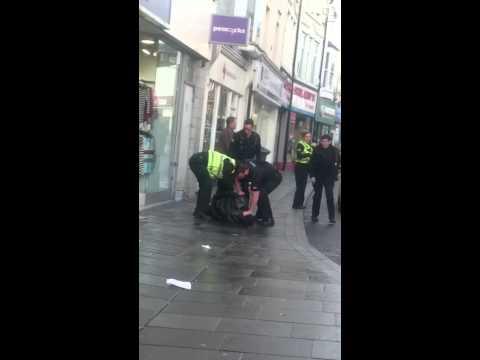 Monday morning pontypridd arrest