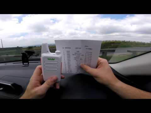 WLN KD-C1 Programming & 75 Mile Repeater Test  - Part 2