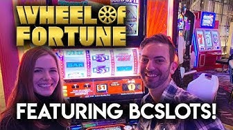 Wheel of Fortune Gold Spin! Slot Machine! With @Brian Christopher Slots Can We Hit A Golden Win?