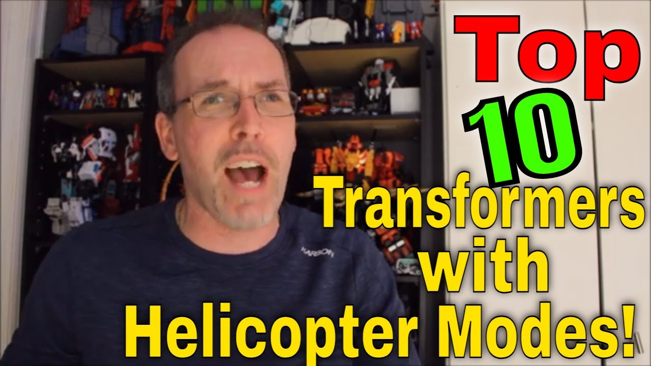 Whirlybirds: Top 10 Transformers with Helicopter Alt Modes by GotBot