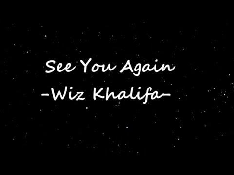 Wiz Khalifa   See You Again Lyrics