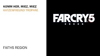 Far Cry 5 - Katzenfreund Trophy Guide - PEACHES