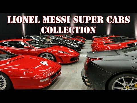 Lionel Messi Super Cars Collection