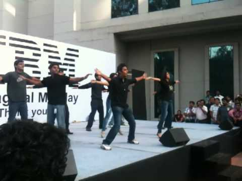 funny Group dance @ IBM india.MOV - YouTube