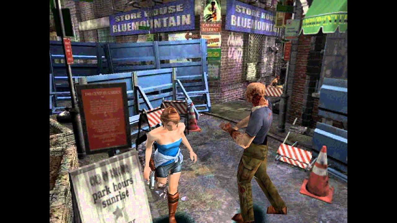 Resident Evil 3 Nemesis Sega Dreamcast Gameplay Youtube