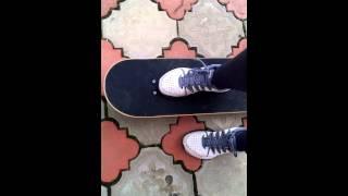 Урок катания на скейте #1(начало.потом будет норм)