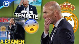 Zinedine Zidane en pleine tempête avant le Clasico face au Barça | Revue de presse