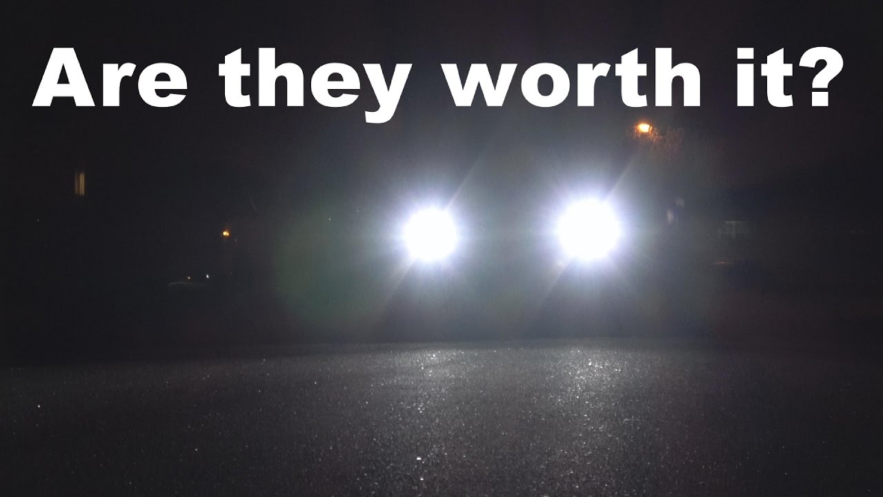 are led headlights worth it aux beam review youtube. Black Bedroom Furniture Sets. Home Design Ideas