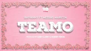 Rayvanny Ft Messias Maricoa - Teamo (Official Audio) SMS SKIZA 8548831 to 811