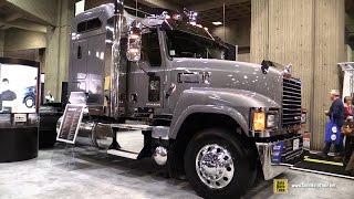 2015 Mack Pinnacle CHU613 21044 Truck With Mack MP8 505+ Engine - Exterior, Interior Walkaround