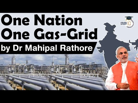 One Nation One Gas Grid energy initiative - India invites biogas developers to invest in India #UPSC