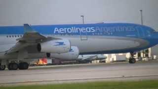 AEROLINEAS ARGENTINAS. AIRBUS. A340-300. MIAMI.