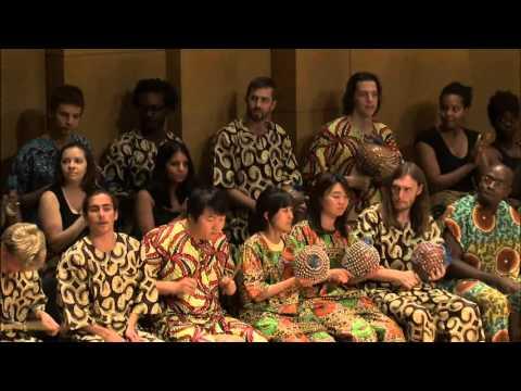UNT African Ensemble 2012