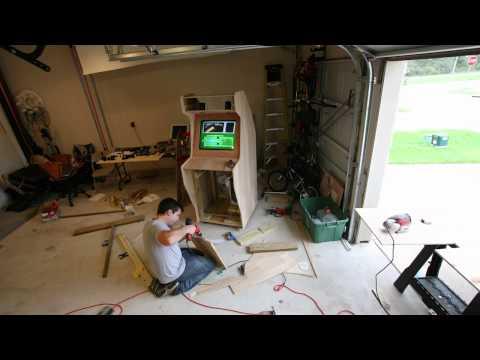 Nostalgiatron - The Building of a DIY Arcade