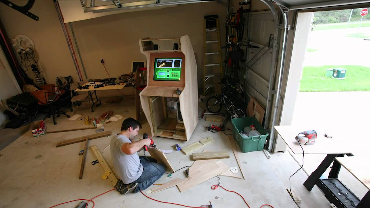 Nostalgiatron the building of a diy arcade youtube malvernweather Gallery