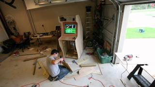 Nostalgiatron - The Building Of A Diy Arcade
