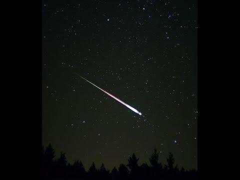 Watch incredible Orionid Meteor Shower filmed 22 October 2016