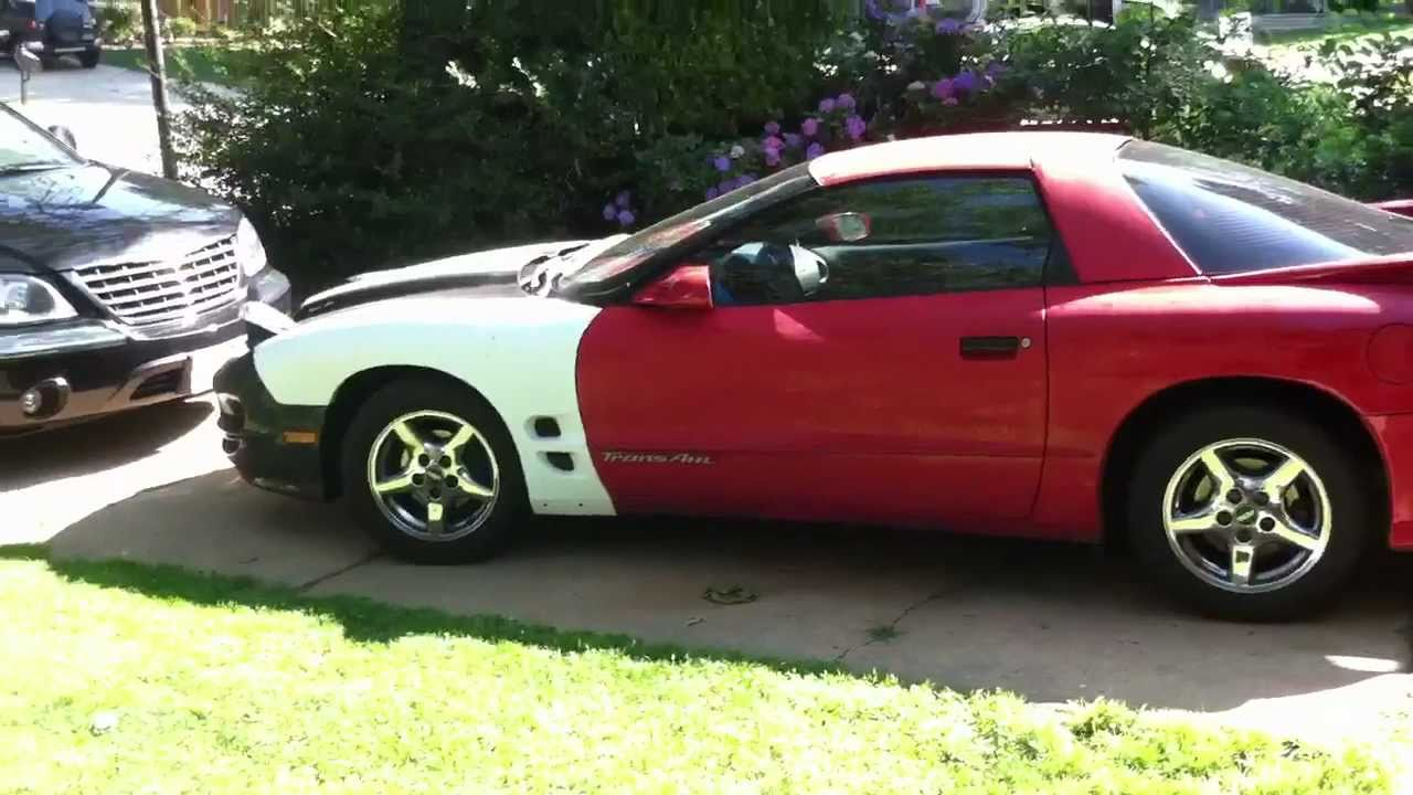 93 Firebird Trans Am Tour Ls1 Front End Swap Youtube