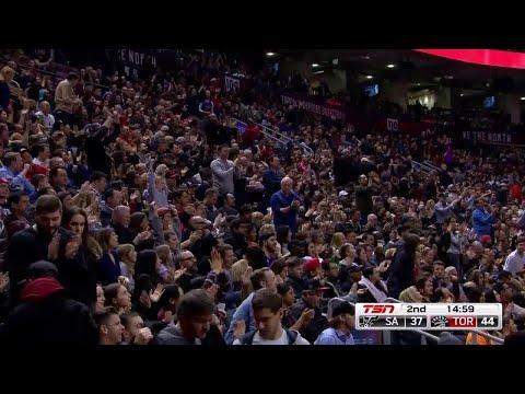 2nd Quarter, One Box Video: Toronto Raptors vs. San Antonio Spurs