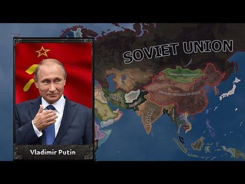 Что, если Советский Союз победил в Холодной Войне? HOI 4 Red World
