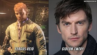 Wolfenstein 2 The New Colossus Characters Voice Actors