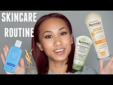 SKINCARE ROUTINE For Clearer, Younger Looking Skin!!   Norxssa