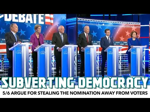 Everyone But Bernie Argue For Stealing The Nomination Away From Voters