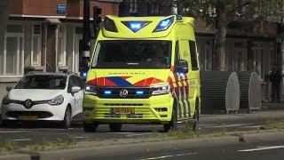 [Luchthoorn!] Ambulance 17-147 met spoed naar het EMC in Rotterdam! #991