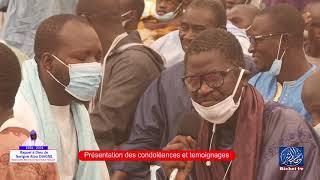   Hommage à Serigne Atou DIAGNE: Présentations des Condoléances