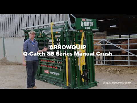 Arrowquip Q-Catch 86 Series Cattle Crush Demonstration