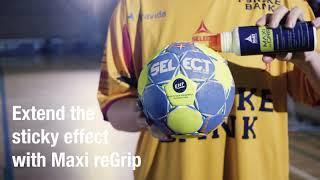 Select Maxi-Grip Handball and Re-Grip
