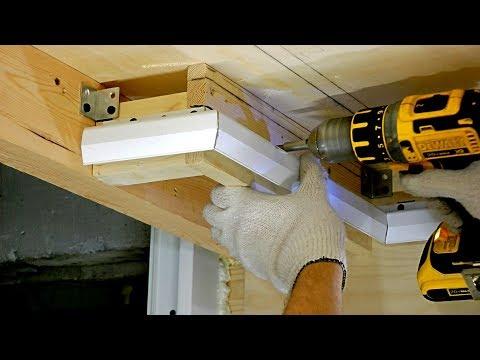 Парящий натяжной потолок своими руками часть №1: монтаж профиля ПК-06 от ПАРСЕК