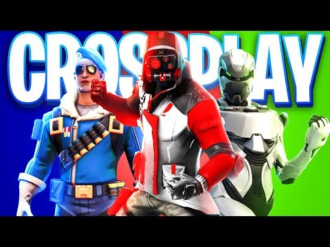 FINALLY.. Fortnite PS4 CrossPlay With ALL CONSOLES