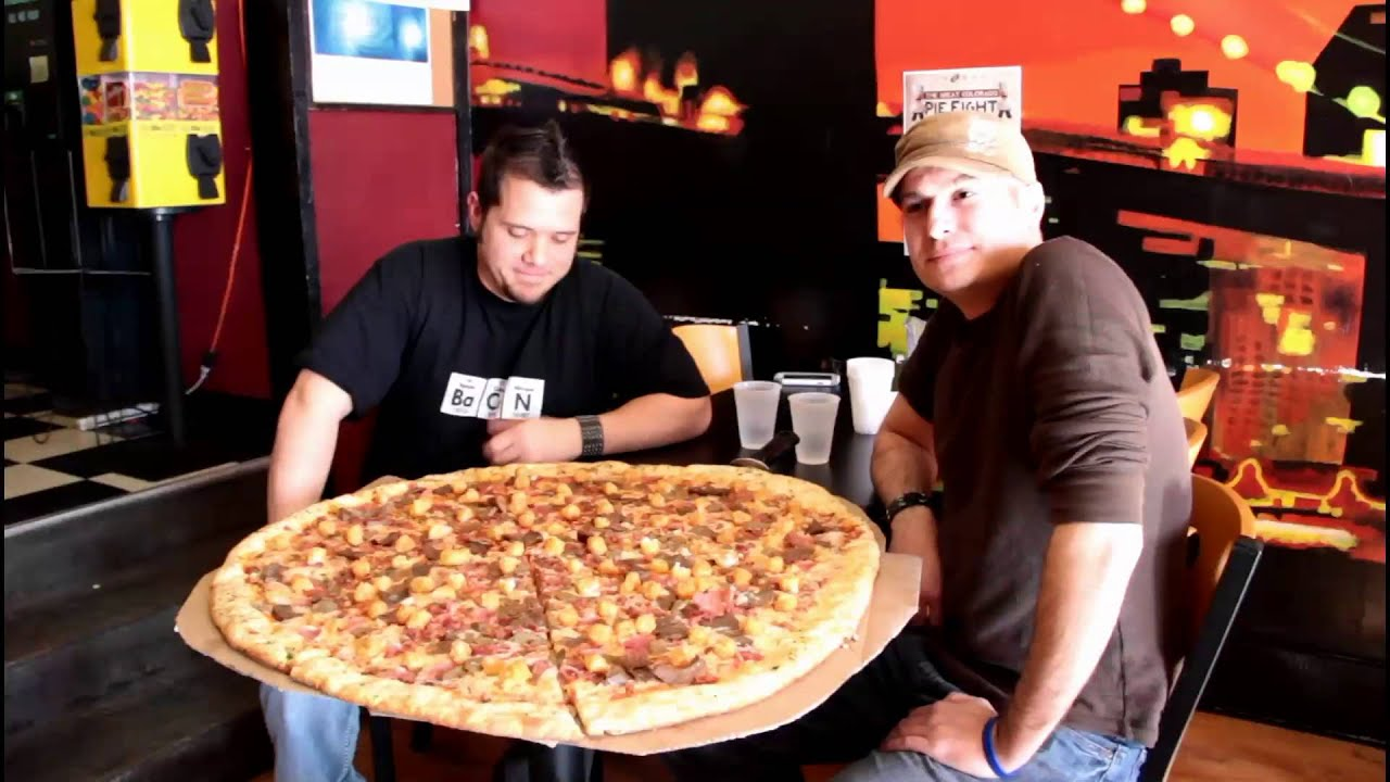 pizza casbah challenge can we do it ep 2 mov youtube