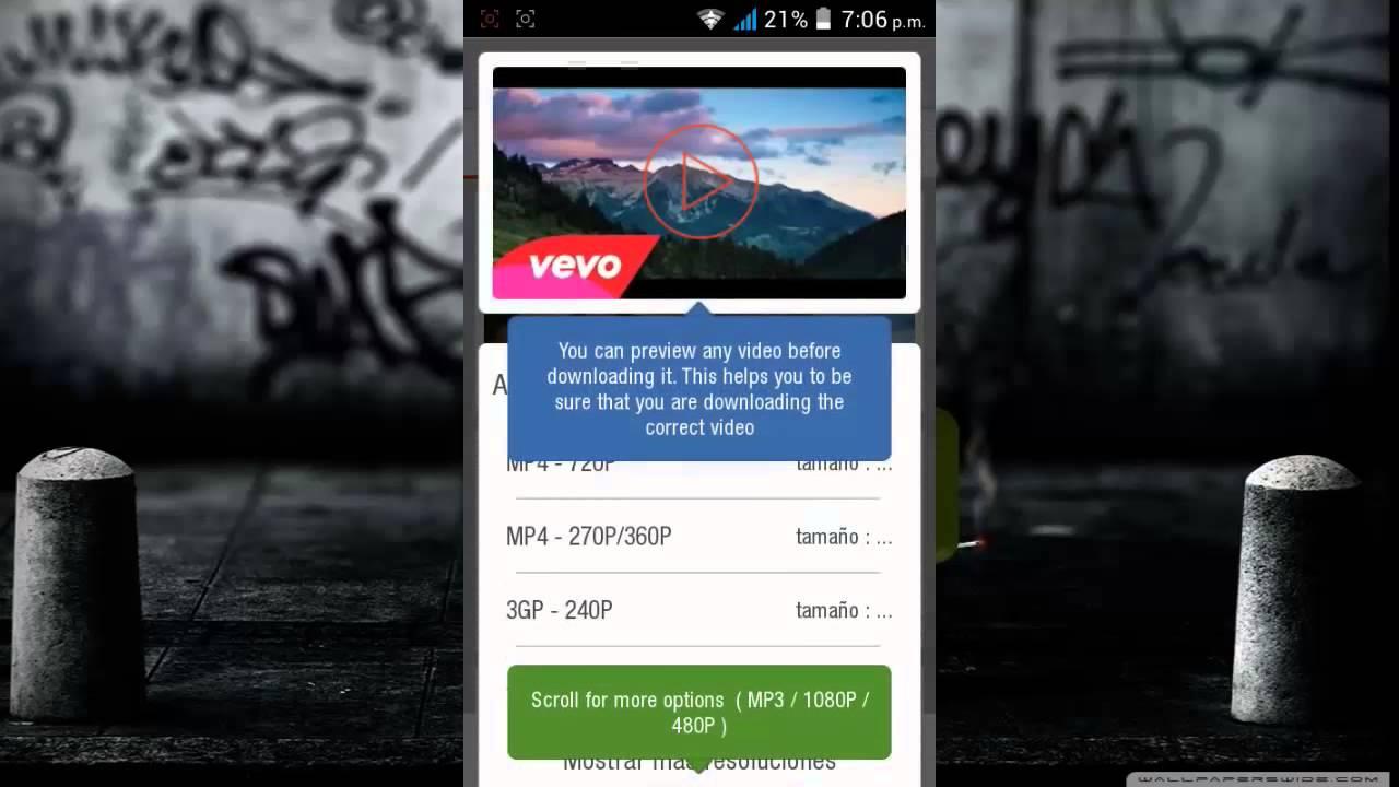 descargar videos audio youtube