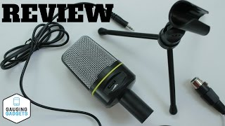 Elegiant Microphone Review - SF-920 3.5mm Wired Handsfree Condenser Microphone