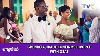 It39s Official Gbenro Ajibade And Osas Ighodaro39s Marriage Is No More