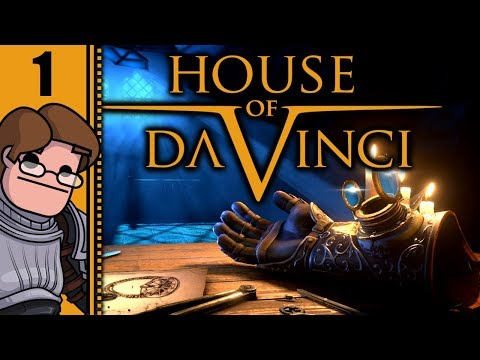 Let's Play The House of Da Vinci Part 1 - The Opposite of an Escape Room